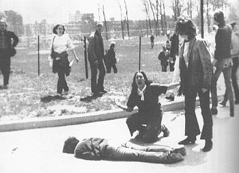 Kent State Shooting - Famous Photo by John Filo
