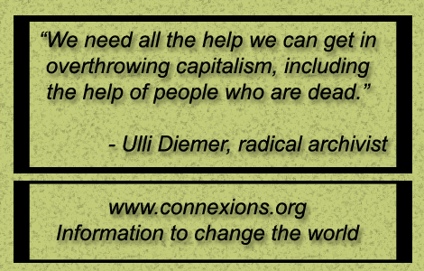 Ulli Diemer: We need all the help we can get in overthrowing capitalism including the help of people who are dead