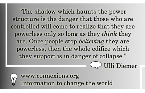 Ulli Diemer: The shadow which haunts the power structure