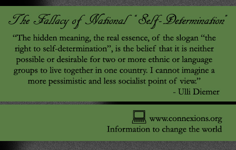 Ulli Diemer: The Fallacy of National Self-Determination