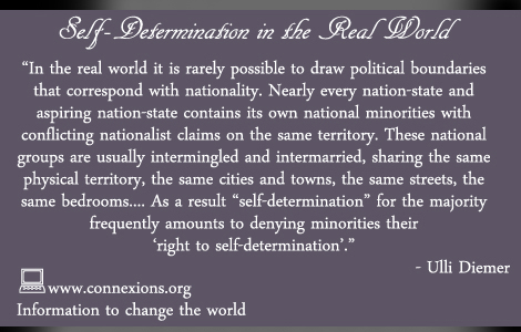 Self-Determination in the real world