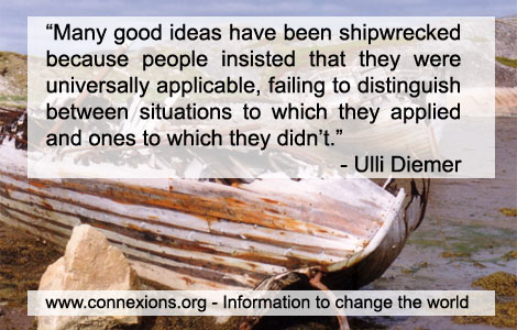 Ulli Diemer: Many good ideas have been shipwrecked